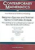 Bergman Spaces And Related Topics in Complex Analysis Proceedings of a Conference in Honor o...