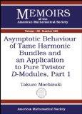Asymptotic Behaviour of Tame Harmonic Bundles and an Application to Pure Twistor D-modules