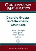 Discrete Groups and Geometric Structures: Workshop on Discrete Groups and Geometric Structur...
