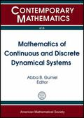 Mathematics of Continuous and Discrete Dynamical Systems : AMS Special Session in Honor of R...