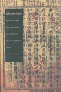 Before the Nation Kokugaku and the Imagining of Community in Early Modern Japan
