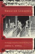 English Lessons The Pedagogy of Imperialism in Nineteenth-Century China