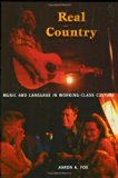 Real Country Music And Language In Working-class Culture