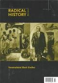 Transnational Black Studies Radical History Review
