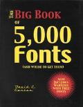 Big Book of 5000 Fonts (And Where to Get Them)