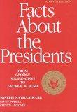 Facts About the Presidents A Compilation of Biographical and Historical Information