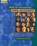 Math for All Learners Pre-Algebra