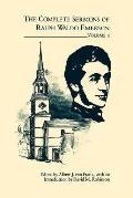 Complete Sermons of Ralph Waldo Emerson