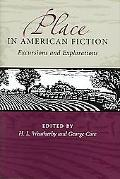 Place In American Fiction Excursions And Explorations