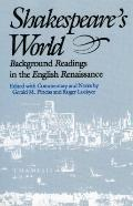 Shakespeare's World Background Readings in the English Renaissance