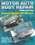 Motor Auto Body Repair Student Technician's Manual