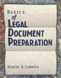 Basics of Legal Document Preparation
