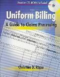 Uniform Billing A Guide to Claims Processing