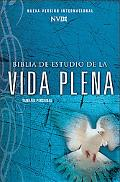 Biblia NIV Estudio vida plena tamano manual