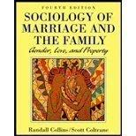 Sociology of Marriage and the Family: Gender, Love, and Property (The Nelson Series in Socio...