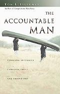 Accountable Man Pursuing Integrity Through Trust and Friendship