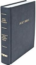 Black Compact Wide Margin Bible King James Version