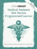 Medical Assistant Test Review Programmed Learner