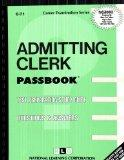 Admitting Clerk(Passbooks) (Career Examination Series)