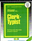 Clerk Typist Passbooks for Career Opportunities
