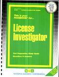 License Investigator