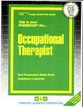 Occupational Therapist C-558/Career Examination Series