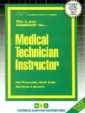 Medical Technician Instructor