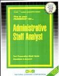 Administrative Staff Analyst
