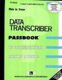 Data Transcriber(Passbooks) (C-1634)