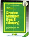 Structure Maintainer, Group B: Masonry (Career Examination series)