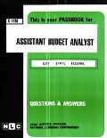 Assistant Budget Analyst