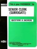 Senior Clerk (Surrogate)