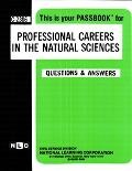 Professional Careers in the Natural Sciences