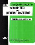 Senior Taxi and Limousine Inspector
