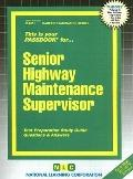 Senior Highway Maintenance Supervisor