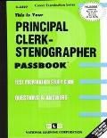 Principal Clerk-Stenographer, 1991