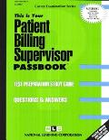Patient Billing Supervisor