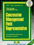 Concession Management Field Representative (Career Examination Passbooks)