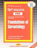 Foundations of Gerontology