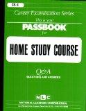 Passbooks for Career Opportunities Home Study Course