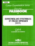 Correctness and Effectiveness of English Expression