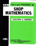 Shop Mathematics