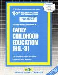 Early Childhood Education Kindergarten to Grade 3