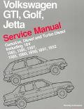 Volkswagen Gti, Golf, Jetta Service Manual  Gasoline, Diesel and Turbo Diesel Including 16V ...