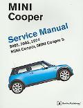 Mini Cooper Service Manual Mini Cooper, Mini Cooper S, 2002, 2003, 2004