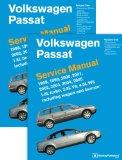 Volkswagen Passat (B5) Service Manual: 1998, 1999, 2000, 2001, 2002, 2003, 2004, 2005 [2 VOL...