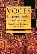 Voces De Hispanoamerica Antologia Literaria
