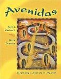 Multimedia CD-ROM for Avenidas: Beginning a Journey in Spanish