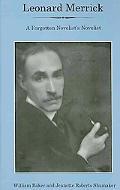 Leonard Merrick: A Forgotten Novelist's Novelist