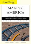 Cengage Advantage Books: Book Making America, Volume 1: To 1877